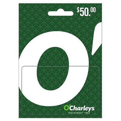 $50 O'Charley's Restaurant & Bar Gift Card