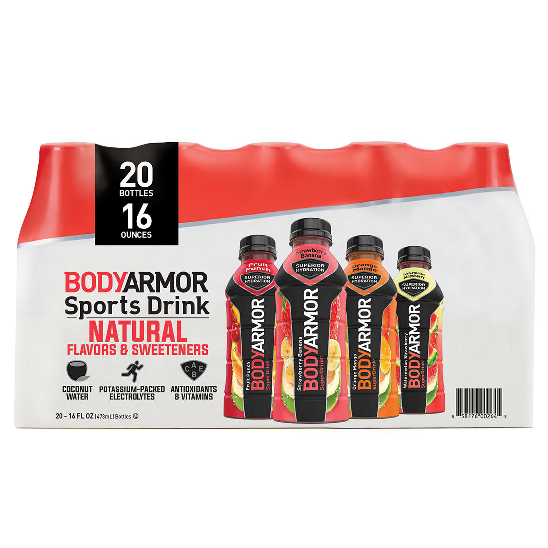 photo about Play It Again Sports Coupons Printable titled BODYARMOR Sports activities Consume, Selection Pack, 20 ct./16 oz.