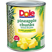 Dole Fancy Pineapple Chunks, 106 oz.