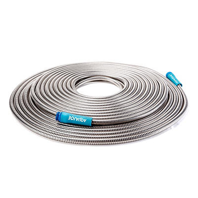 Sun Joe 100' Steel Metal Garden Hose