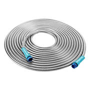 Sun Joe 50' Steel Metal Garden Hose