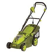 "Sun Joe 16"" 40V Hybrid Lawn Mower"