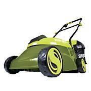 "Sun Joe 14"" 28V 5A Cordless Lawn Mower"