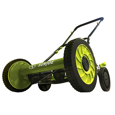 "Sun Joe 16"" 9-Position Manual Reel Mower"