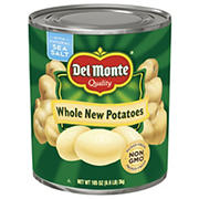 Del Monte Whole Potatoes, 105 oz.