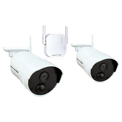 Night Owl 4-Channel 2-Camera 1080p Wireless Security System with 16GB