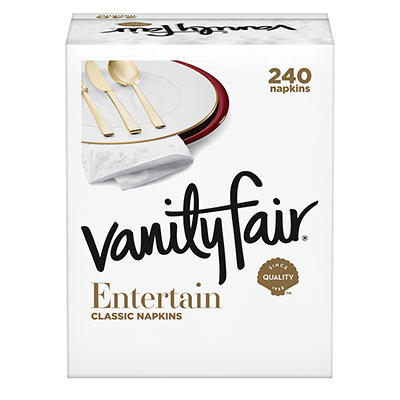 Vanity Fair 3-Ply Impressions Napkins, 240 ct.