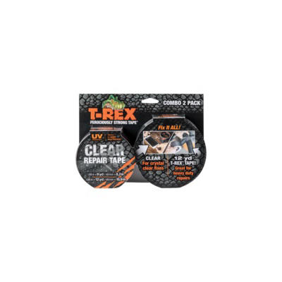 T-REX Clear Repair Tape, 2 pk.