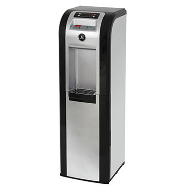 Vitapur Freestanding Bottom-Loading Water Dispenser - Black/Stainless