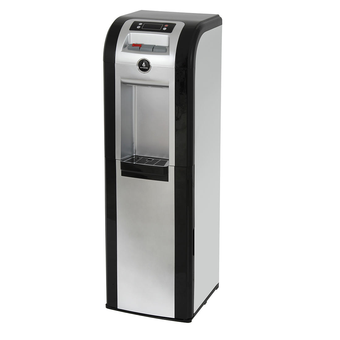 Vitapur Freestanding Bottom-Loading Water Dispenser - Black/Stainless Steel