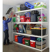 SafeRacks 4-Tier Free-Standing Shelving Unit