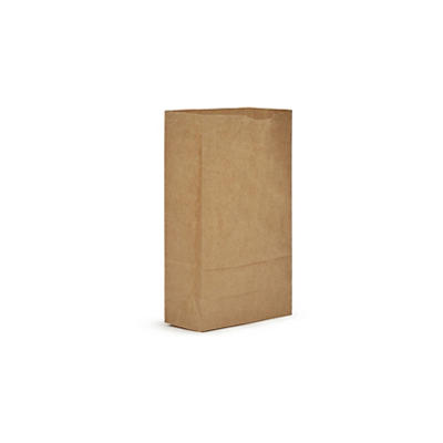 AJM #6 Natural Kraft Grocery Bag, 500 ct.