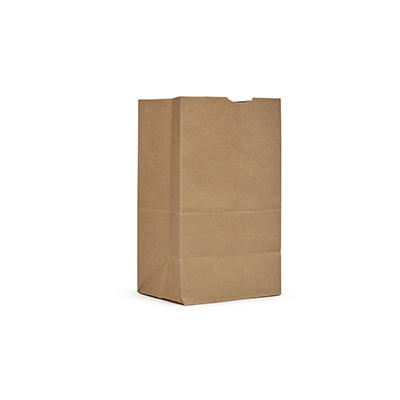AJM 20 Squat Natural Kraft Grocery Bag, 500 ct.