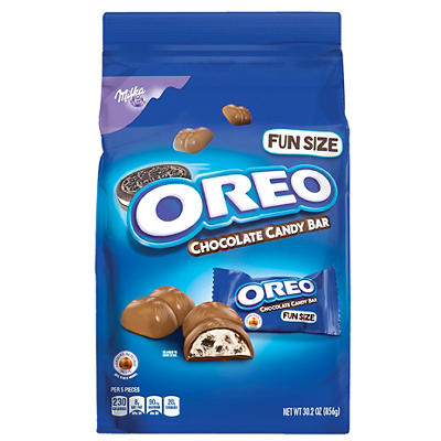 Oreo Fun Size Chocolate Candy Bars, 30.2 oz.
