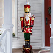 "National Tree Company 65"" Jeweled Nutcracker"