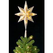 """National Tree Company 11"""" Bethlehem Star Tree Topper"""
