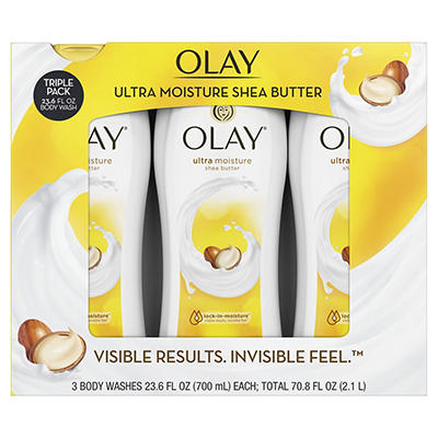Olay Ultra Moisture Body Wash, 3 pk./23.6 oz.