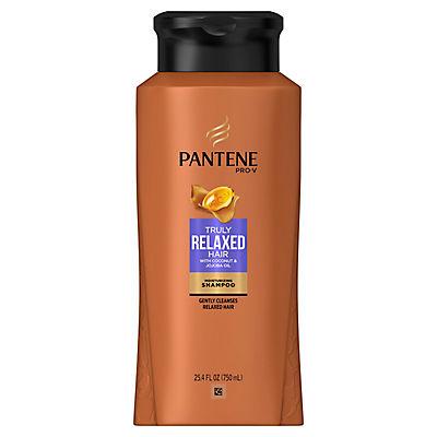 Pantene Pro-V Truly Relaxed Hair Moisturizing Shampoo, 25.4 oz.