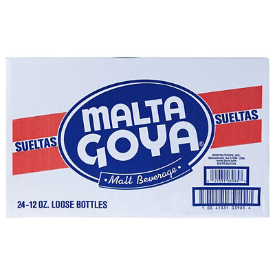 Goya Malta, 24 pk./12 oz. bottles