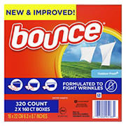 Bounce Outdoor Fresh Dryer Sheets, 2 pk./160 ct.