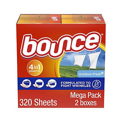 Bounce Outdoor Fresh Dryer Sheets, 2 pk./160 ct.