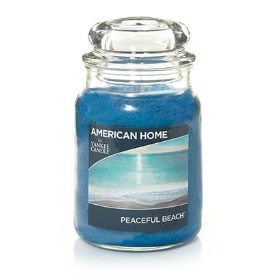 American Home by Yankee Candle Scented Candle, 19 oz. - Peaceful Beach