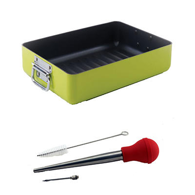 BergHOFF Eclipse Roaster Set - Lime