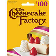 $100 The Cheesecake Factory Gift Card