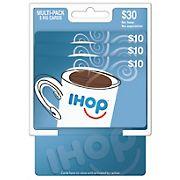 $10 IHOP Gift Card, 3 pk.