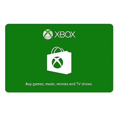 $50 Xbox Microsoft Gift Card