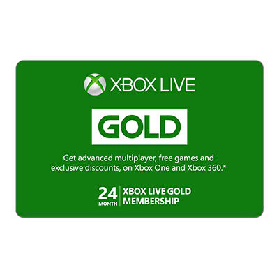 Xbox Live Gold 24-Month Membership