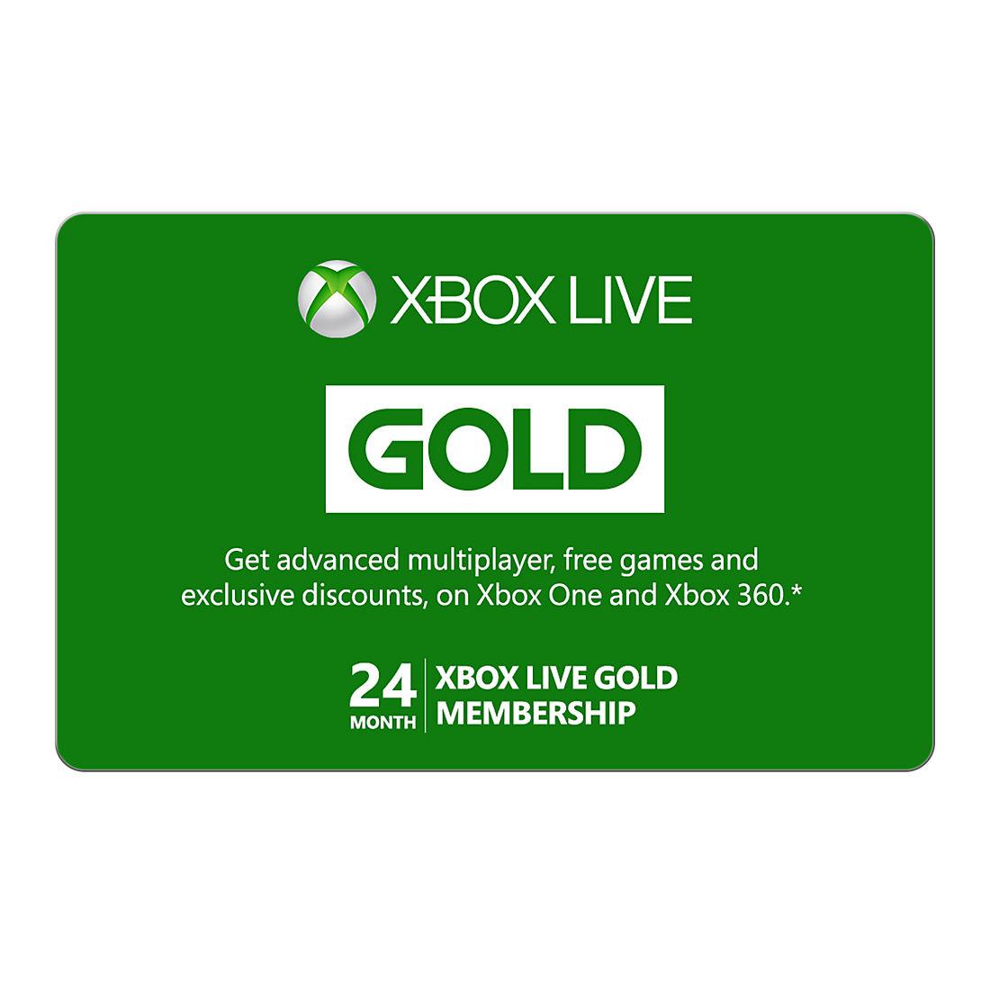 Xbox Live Gold 24-Month Membership
