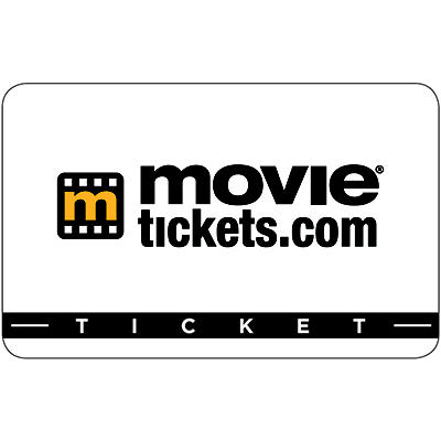 $35 Movietickets.com Gift Card