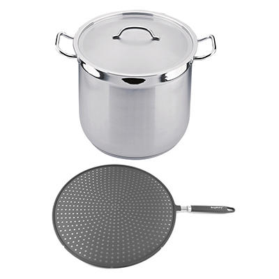 BergHOFF Hotel 3-Pc. Stainless Steel Stockpot Set