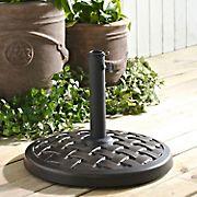 W. Trends Round Umbrella Base - Antique Bronze