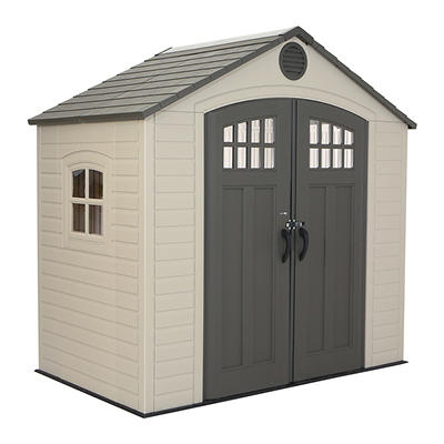 Lifetime 8' x 5' Storage Shed with Window