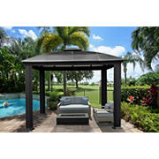 Paragon Outdoor Siena 12' x 12' Gazebo with Domed Roof