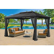 Paragon Outdoor Sedona 11' x 16' Gazebo with Mosquito Net