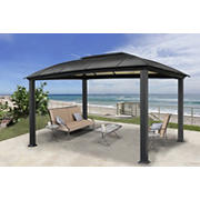 Paragon Outdoor Sierra 12' x 16' Gazebo with Mosquito Netting