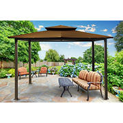 Paragon Outdoor Savannah 10' x 12' Gazebo - Cocoa
