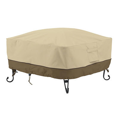 Classic Accessories Veranda Square Full-Coverage Fire Pit Cover - Pebb