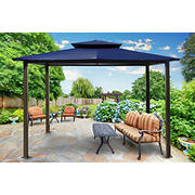Paragon Outdoor Savannah 10' x 12' Gazebo - Navy