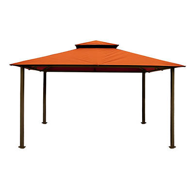 Paragon Outdoor Catalina 11' x 14' Gazebo - Rust