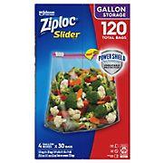 Ziploc 1-Gal. Slider Storage Bags, 120 pk.