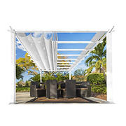 Paragon Outdoor 11' x 16' Pergola - White/White