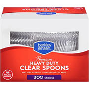 Berkley Jensen Plastic Spoons, 300 ct. - Clear