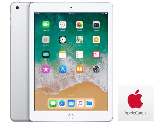 Apple iPad 9.7 32GB - Silver with AppleCare+