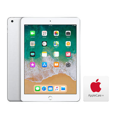 "Apple iPad 9.7"", 32GB - Silver with AppleCare+"