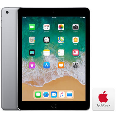 "Apple iPad 9.7"", 128GB - Space Gray with AppleCare+"