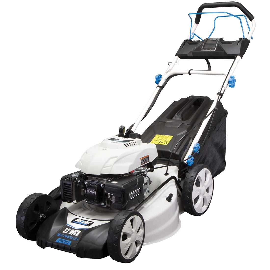 Pulsar 22 Deck Size Electric Start Gas Self Propelled Lawn Mower